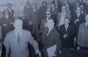 Κ. Μανδρακούκας μαζί με τον Κων.Καραμανλή