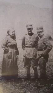 Η Αννα Παπαδοπουλου μαζί με Πλαστήρα και Πάγκαλο