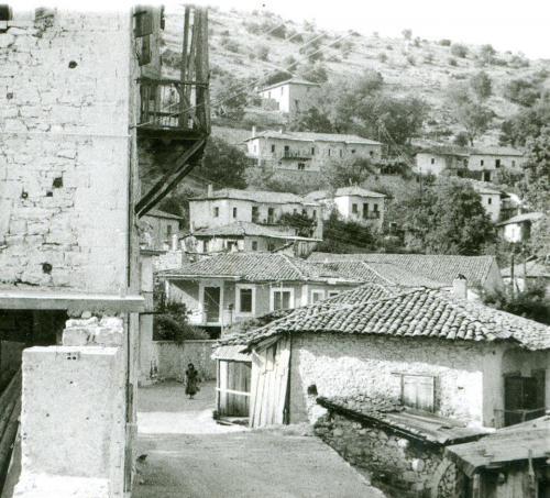 Άποψη του χωριού τη δεκαετία του 1960