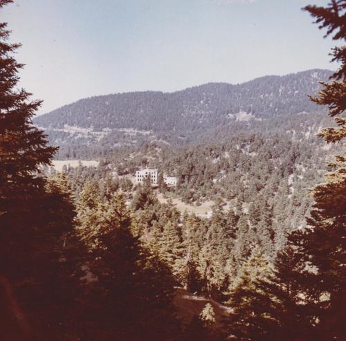 Άποψη του Σανατορίου τη δεκαετία του 1960