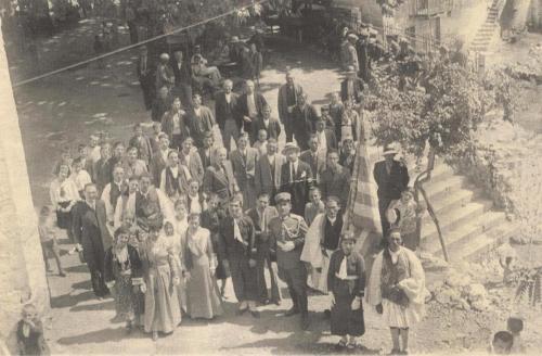 Πλατεία Μαγουλιάνψν τέλη δεκαετίας 1930.
