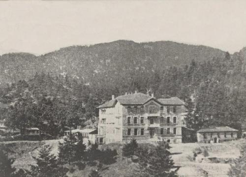 Το Σανατόριο τη δεκαετία του 1930 κατά τη περίοδο λειτουργίας του
