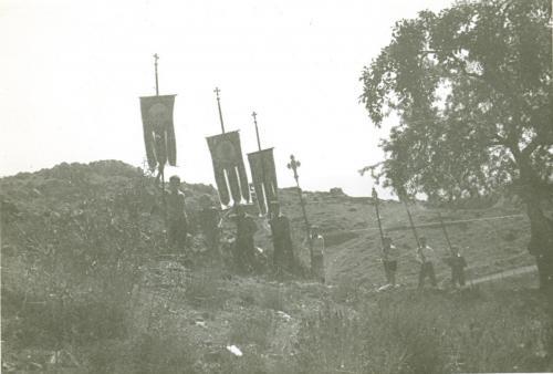 Περιφορά εικόνας της Παναγίας τον 15αυγουστο 1971