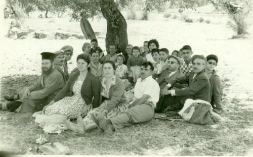 Εορτασμός της Παναγίας στο Πετροβούνι 1960