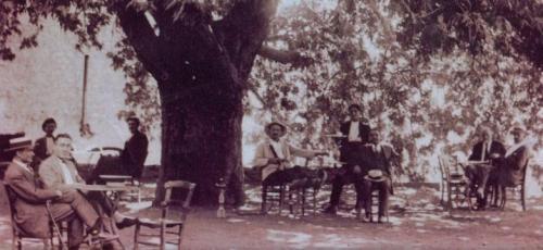 Πλατεία Μαγουλιάνων αρχές δεκαετίας 1930.