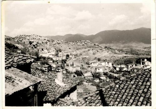 Άποψη από το πάνω χωρίο