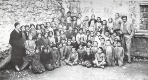 Δημοτικό σχολείο τη δεκαετία του 1935