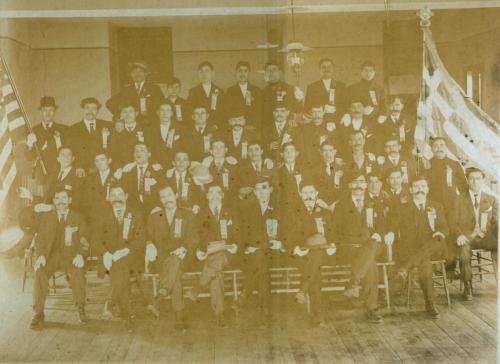 Αδελφότητα Μαγουλιανιτών Η Κοίμηση της Θεοτόκου, στη Βοστώνη την εθνική εορτή της 25ης Μαρτίου 1910