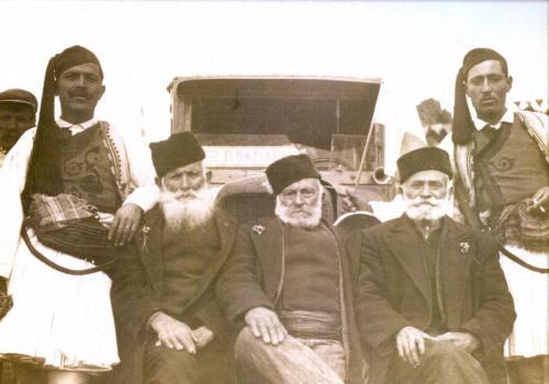 Μαγουλιανιτες μετά το πέρας της περιοδείας του Μεταξά.